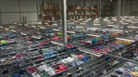 Stockage de textile chez XP LOG