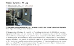 Equipements prodex chez XP LOG