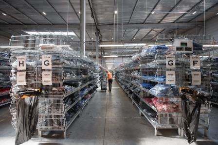 Entrepôt textile XPLOG