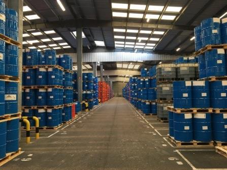 Stockage produit industriel