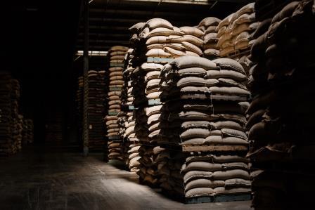 Stockage café logistique agroalimentaire